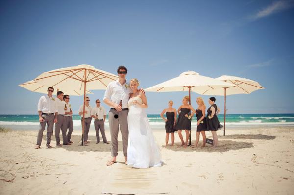 Another popular style of Australian wedding is the backyard wedding